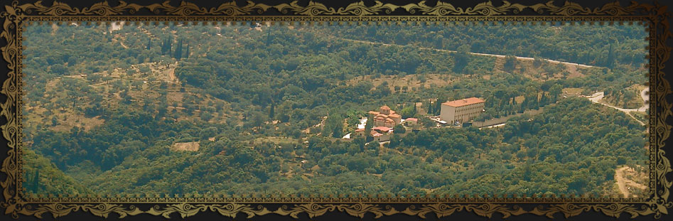 Holy Monastery of Saint Nektarios - Trikorfo Fokidos Greece